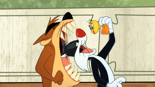 The Looney Tunes tampil (Taz)