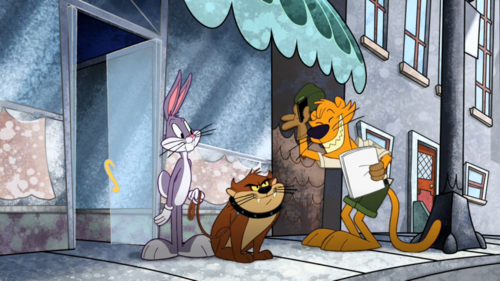 The Looney Tunes Show wallpaper probably containing animê called The Looney Tunes Show (Taz)