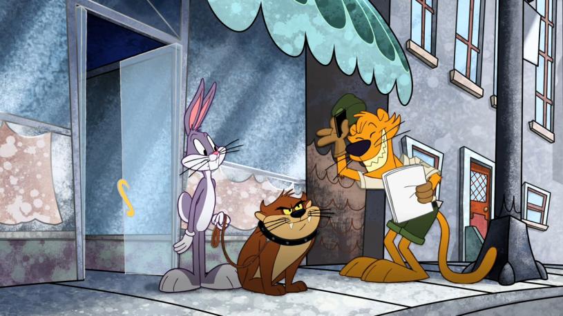 The Looney Tunes প্রদর্শনী (Taz)
