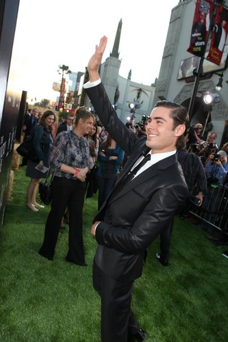 The Lucky One Premiere - Hollywood, CA