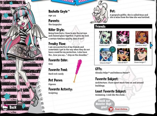 Monster High wallpaper called The New Bios