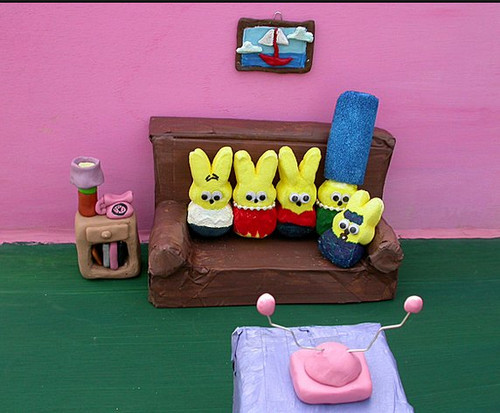 The Peepsons - marshmallow-peeps Photo