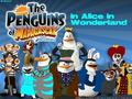 The Penguins in Alice in Wonderland - penguins-of-madagascar wallpaper