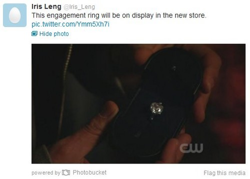 Blair & Chuck wallpaper called The Ring!