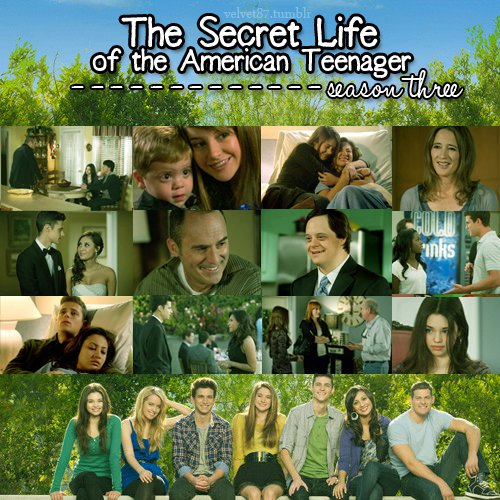 The Secret Life - Season Three - the-secret-life-of-the-american-teenager Fan Art
