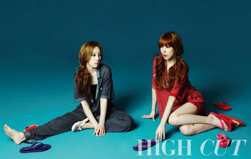 Tiffany & Taeyeon @ High Cut
