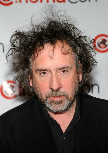 Tim Burton at CinemaCon