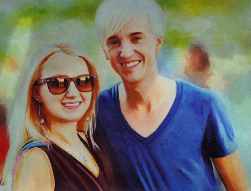 Tom & Evanna drawing
