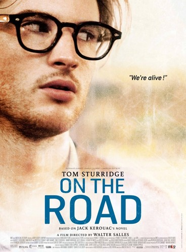 On the Road (Movie) wallpaper containing a portrait entitled Tom Sturridge is Carlo Marx a.k.a. Allen Ginsberg
