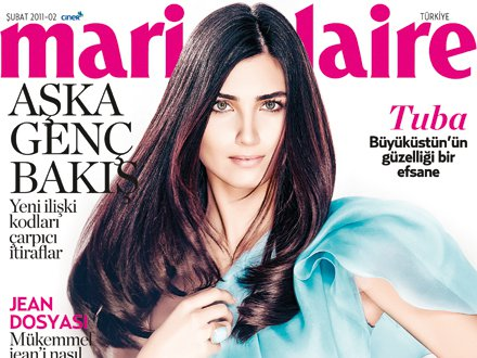 Tuba Buykustun for Marie Claire Turkey