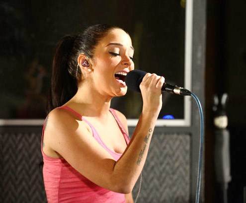 Tulisa in the Live Lounge