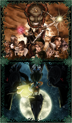 Twilight Princess - the-legend-of-zelda Fan Art