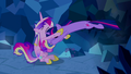 Twilight Sparkle Pouncing on Cadance