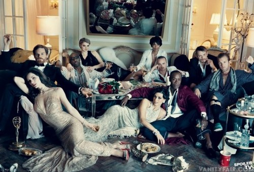 Vanity Fair Photo Shoot  - dexter Photo