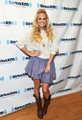 Visits SiriusXM - carrie-underwood photo