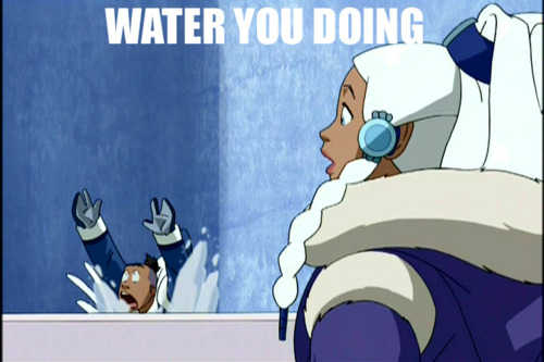 Water you doing xD - avatar-the-last-airbender Photo