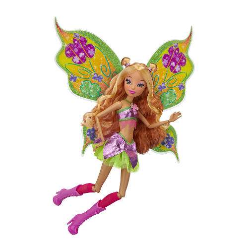 Winx Club Jakks Pacific doll - Flora