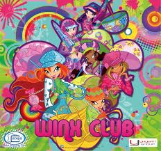 Winx club with their raincoats