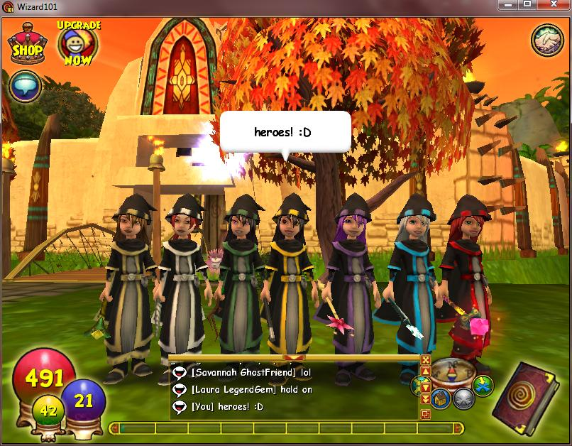 wizard101 sign in wizards