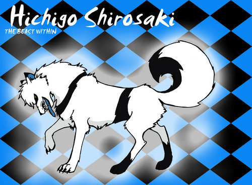 DarkCruz360 wallpaper containing a chainlink fence and anime called Wolf Hichigo