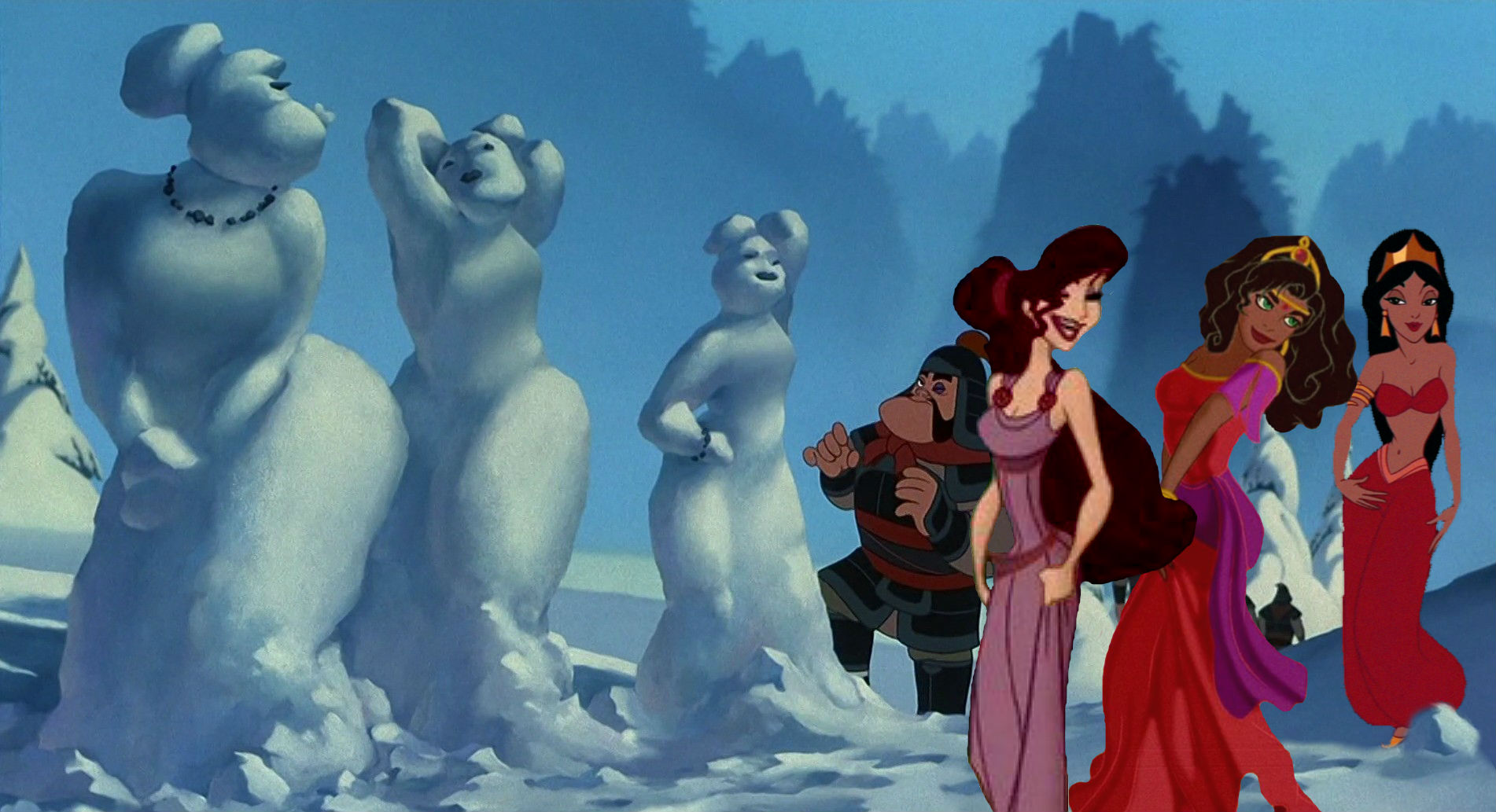 Yao: Snow Sculptor Extraordinaire