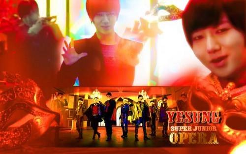 Yesung Opera fondo de pantalla Spam