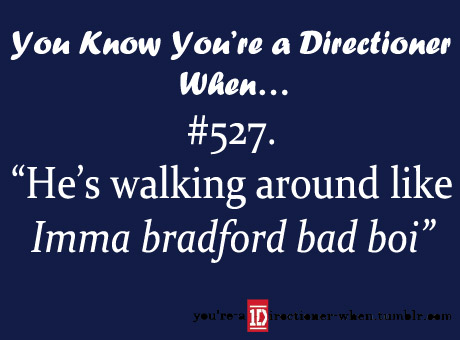 One Direction wallpaper probably with a sign titled You know you're a Directioner when...♥