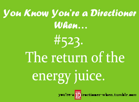 u know you're a Directioner when...♥