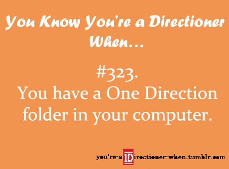 당신 know you're a Directioner when...♥