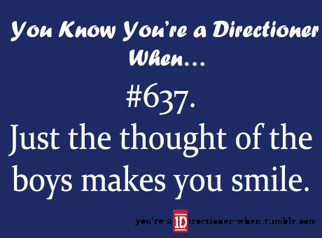 toi know you're a Directioner when...♥