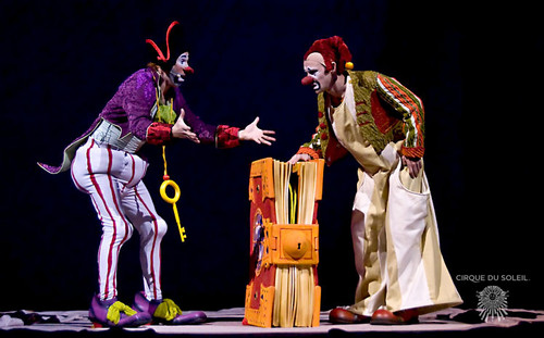 Cirque du Soleil پیپر وال called Zed Clowns