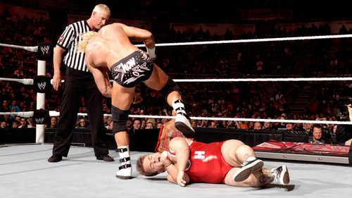 Ziggler and Swagger vs Clay and Hornswoggle