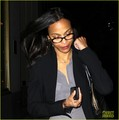 Zoe Saldana Talks Babies with Amanda de Cadenet