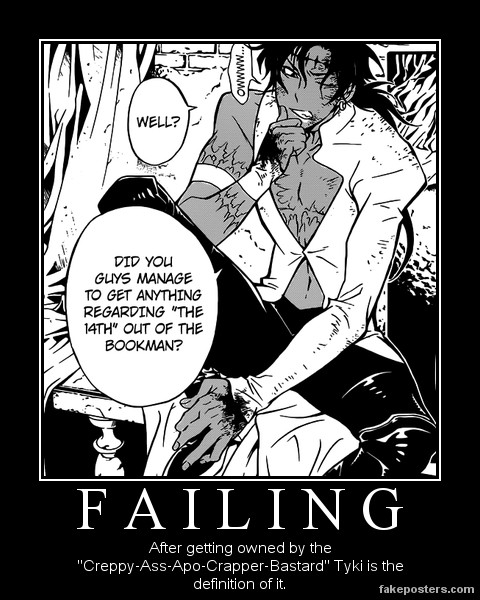 a funny Poster of Tyki