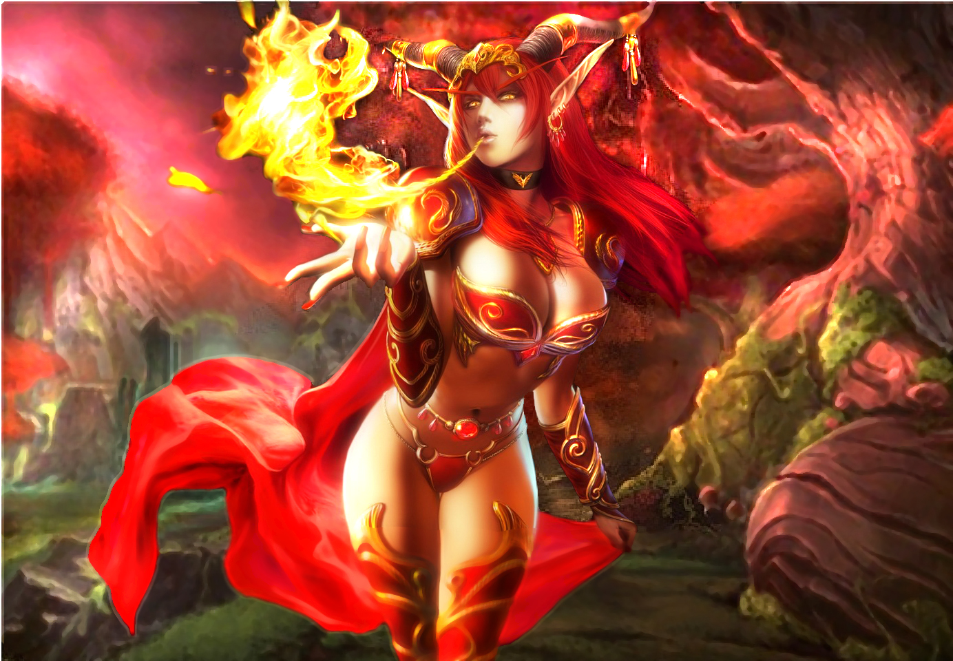 Alexstrasza girl nsfw download