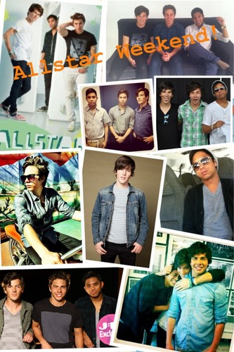 Allstar Weekend wallpaper possibly containing anime titled allstar weekend!