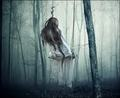 alone on swing - loneliness photo