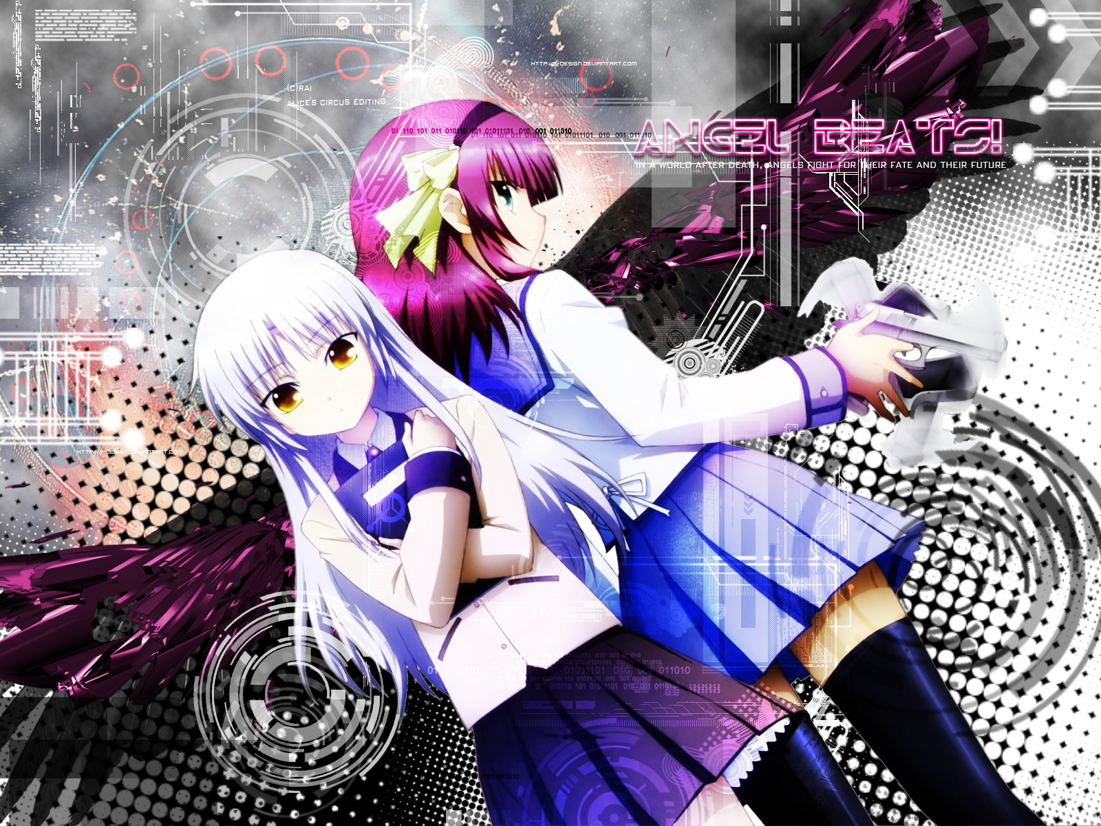 Angel Beats Anime Photo 30625366 Fanpop