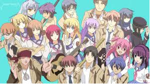 angel beats group foto