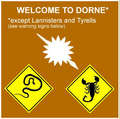 Welcome to Dorne