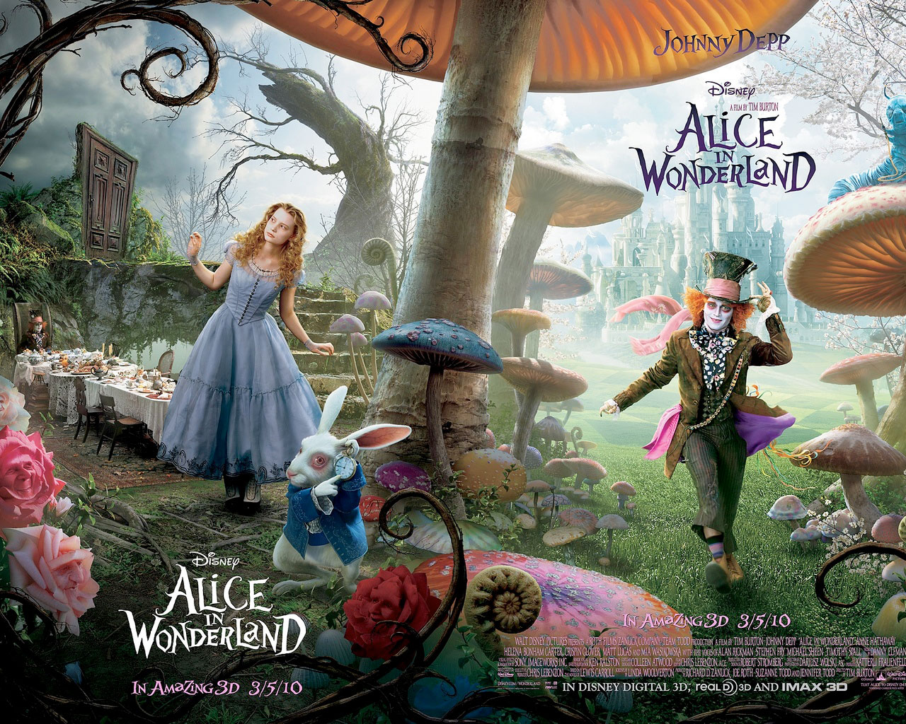 The Rose and The Lily: Alice in Wonderland (2010): A Review