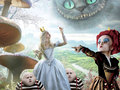 eurekanos - alice-in-wonderland-2010 wallpaper