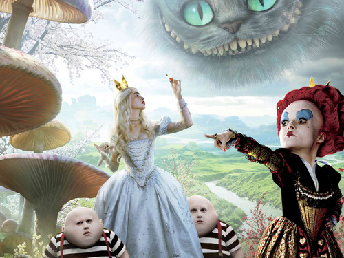 Alice in Wonderland (2010) wallpaper titled eurekanos