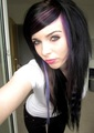 german, scene queen, emo girl, ira vampira, pink, blue, purple, black, hair