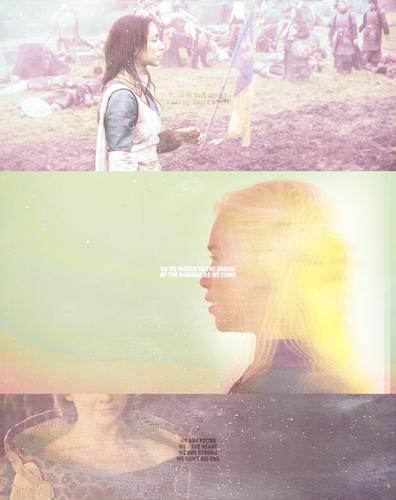 Talisa, Daenerys & Margaery