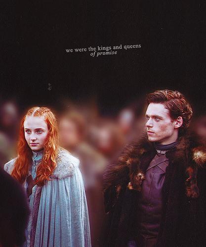 Sansa & Robb