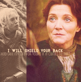 Brienne of Tarth & Catelyn Stark