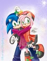 happy new year sonamy!!! - sonic-and-amy photo