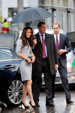 he Duke and Duchess of Cambridge attend the UK premiere of African Cats.