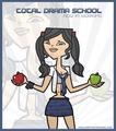 heather total drama school - total-drama-island fan art